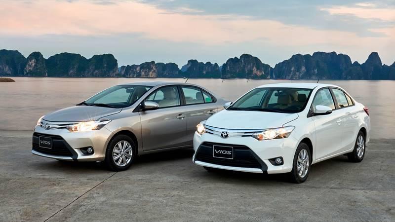 Giá xe Toyota Vios 2018