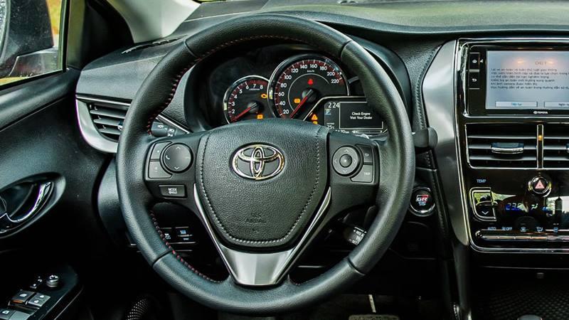 Thông số kỹ thuật và trang bị xe Toyota Vios 2021 - Ảnh 5