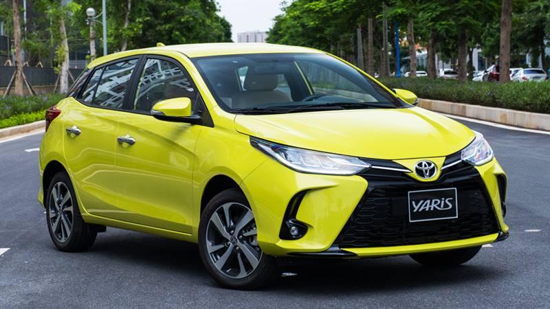 Toyota Yaris 2021 có giá bán 668 triệu tại Việt Nam - Ảnh 1