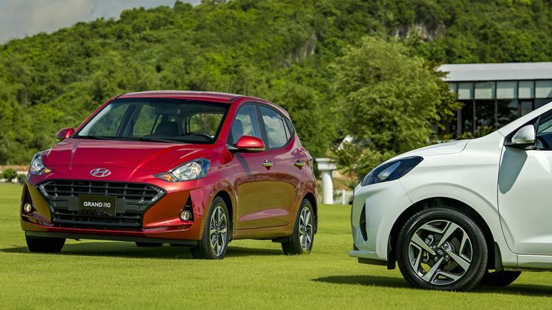 Thông số và trang bị xe Hyundai Grand i10 2021 mới bản Hatchback 5 cửa - Ảnh 1