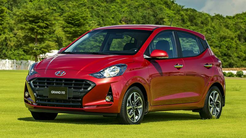 Thông số và trang bị xe Hyundai Grand i10 2021 mới bản Hatchback 5 cửa - Ảnh 4