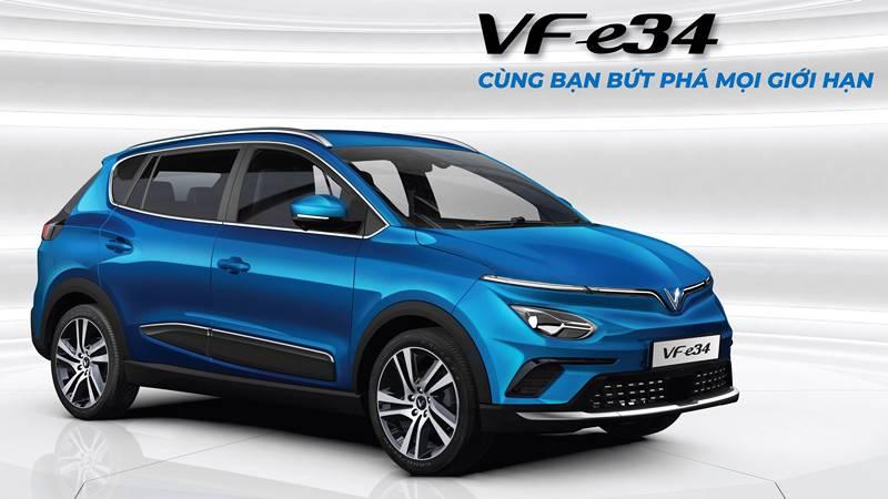 Thông số kỹ thuật và trang bị xe ô tô điện VinFast VF e34 - Ảnh 1