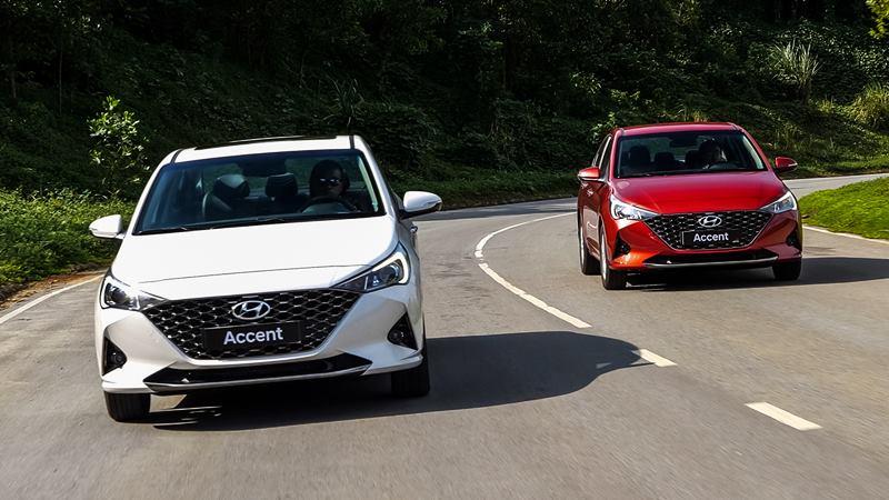 So sánh khác biệt trang bị các phiên bản Hyundai Accent 2021 mới - Ảnh 1