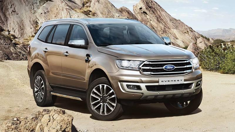 Thông số kỹ thuật và trang bị xe Ford Everest 2020 mới - Ảnh 1