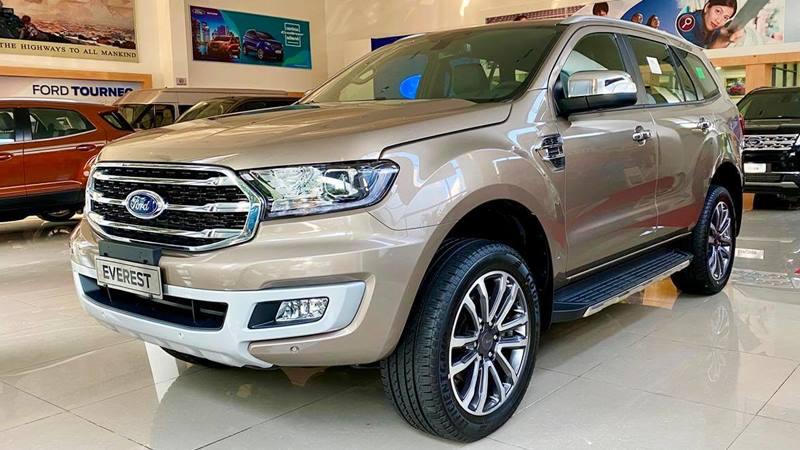 Thông số kỹ thuật và trang bị xe Ford Everest 2020 mới - Ảnh 4
