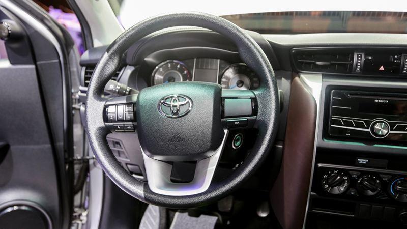 Thông số kỹ thuật Toyota Fortuner 2017 tại Việt Nam - Ảnh 6