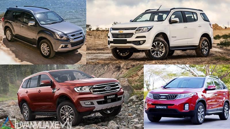 Tư vấn mua xe SUV 7 chỗ giá từ 800 triệu đến 1 tỷ đồng - Ảnh 1