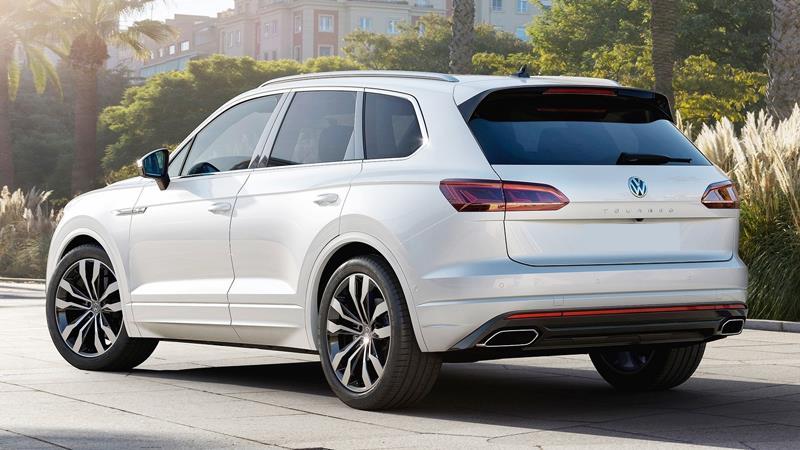 Volkswagen Touareg 2019 thế hệ hoàn toàn mới - Ảnh 5