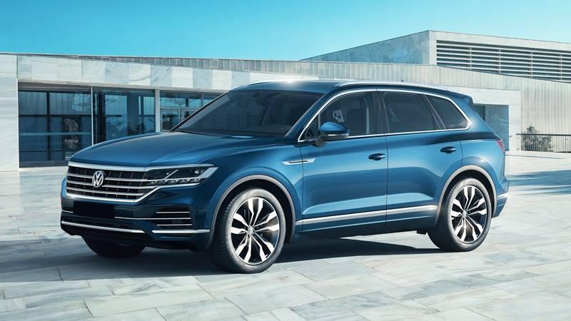 Volkswagen Touareg 2019 thế hệ hoàn toàn mới - Ảnh 2