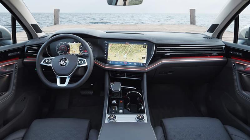 Tân binh tràn ngập công nghệ Volkswagen Touareg 2019 được giới thiệu - Hình 2