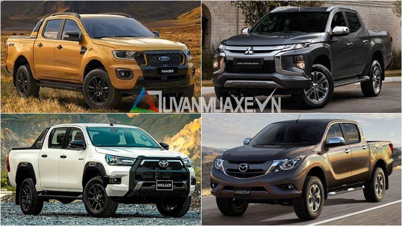 Mua xe bán tải 2021 - Ranger, Hilux, Triton, BT-50, D-Max, Navara - Ảnh 1
