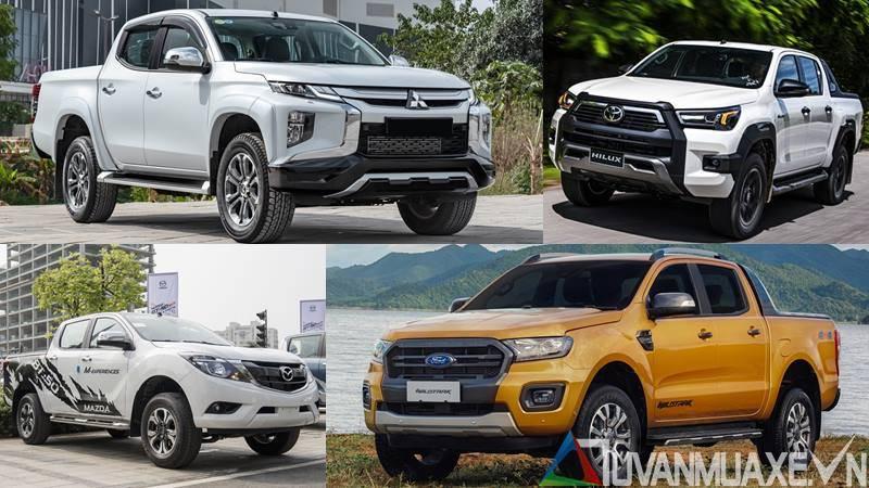 Mua xe bán tải 600-700 triệu đồng năm 2020 tại Việt Nam - Ảnh 1