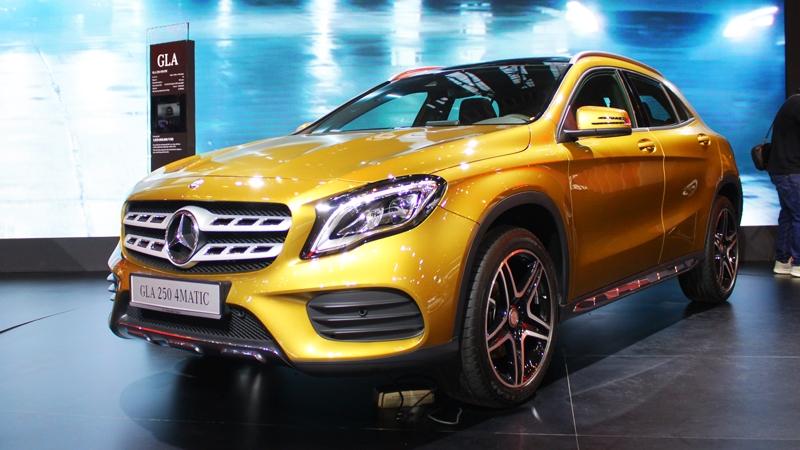 Mercedes-Benz ra mắt CLA45 AMG và GLA45 AMG phiên bản 2016