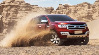 [Xehay] Video trai nghiem Ford Everest 2016 tai Thai Lan