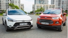 [OS] So sanh Hyundai i20 Active va Ford EcoSport, CUV-SUV co nho