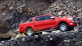 Khả năng tải hàng nặng của Ford Ranger 2016