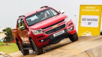 Đánh giá xe Chevrolet Colorado 2017 tại Việt Nam