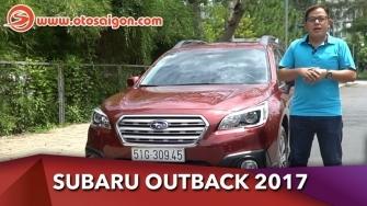 Video Đánh giá xe Subaru Outback 2017 thực tế từ chủ xe