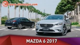 Video đánh giá chi tiết Mazda 6 2017 - những nâng cấp giá trị
